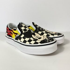 Vans x Disney Slip-On Mickey & Minnie Sneakers